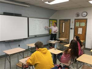 Mr. Guinta's Introduction To Business Class- Guest Speaker (Careers In Finance)